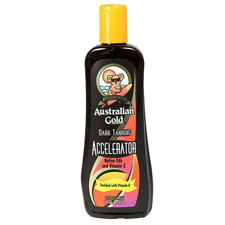 australian gold dark tanning accelerator lotion 8.5 (Best Tan Accelerator For Tanning Beds)