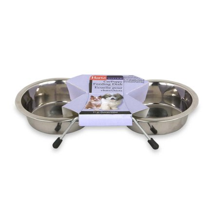 Hartz 98776 Living Stainless Steel Pet Feeding Dishes