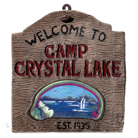 Camp Crystal Lake Sign R794 - Express Crystal Lake