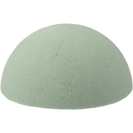 FloraCraft Design It Dry Foam Half Ball, 1 (Floracraft Desert Foam)