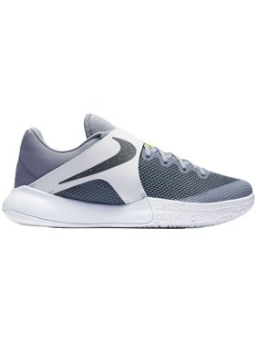 2be045b02f66ef Product Image Nike Men s Zoom Live Basketball Shoes (Grey White