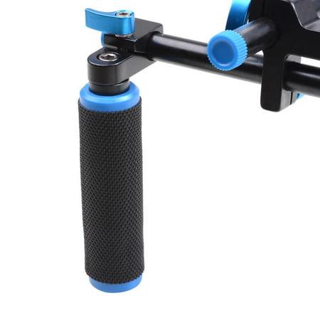 Studio DSLR Rig Video Camera Camcorder Shoulder Mount Stabilizer w/Dual Handgrip - image 3 de 9