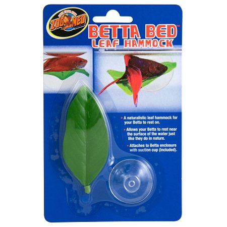 Zoo Med Betta Bed BL-20 Standard Leaf Hammock, Green