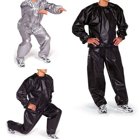 100% PVC Unisex Fitness Loss Weight Sweat Suit Sauna Yoga Suit Exercise Gym Sportwear 5