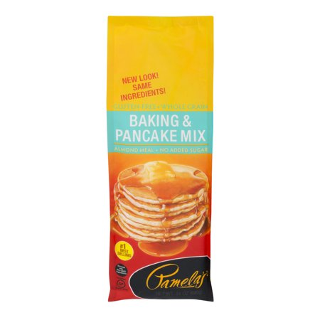 Pamela's Baking & Pancake Mix Gluten-Free + Whole Grain, 24.0 OZ