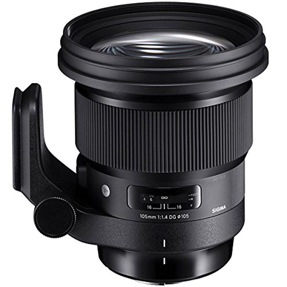 Sigma 259954 105mm f/1.4-16 Standard Fixed Prime Camera Lens For Canon (Black)