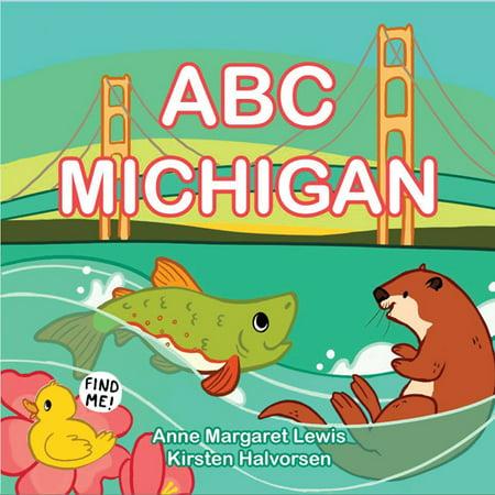 ABC Michigan (Board Book)