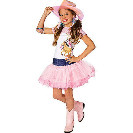 Pop Star Cowgirl Child Halloween - Girls Sheep Costume