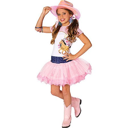 Pop Star Cowgirl Child Halloween Costume - Cowgirl Halloween Costumes For Girls