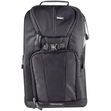 Vivitar Large Camera Backpack Black