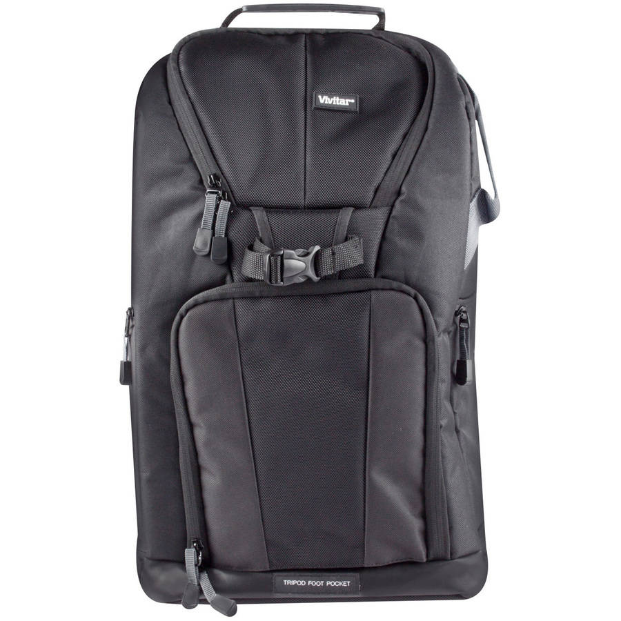 Vivitar Large Camera Backpack Black
