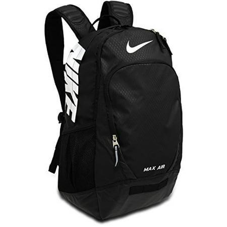 0370a3b645de Nike - Nike Team Training Max Air Large Backpack Backpack Black Black White  Multi Snake One Size - Walmart.com