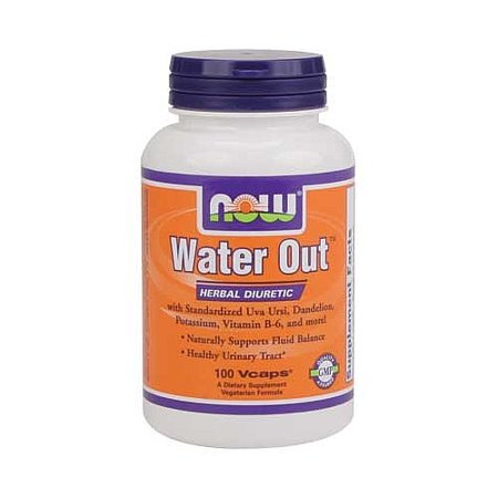NOW Foods - Sortie d'eau à base de plantes Diurétique - 100 Vegetarian Capsules