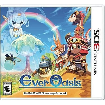 Ever Oasis, Nintendo, Nintendo 3DS, 045496744724 (Best Adventure Games Ever)