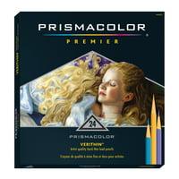 Prismacolor Verithin Colored Pencil Set, 24-Colors