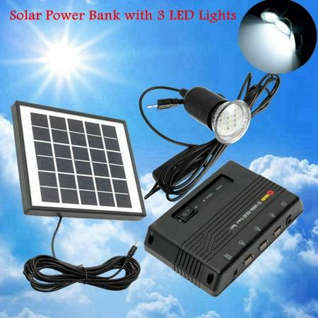 4W 6V Outdoor Solar Power Home & Garden Panel LED Light Lamp Charger Garden Home System Kit Garden Path