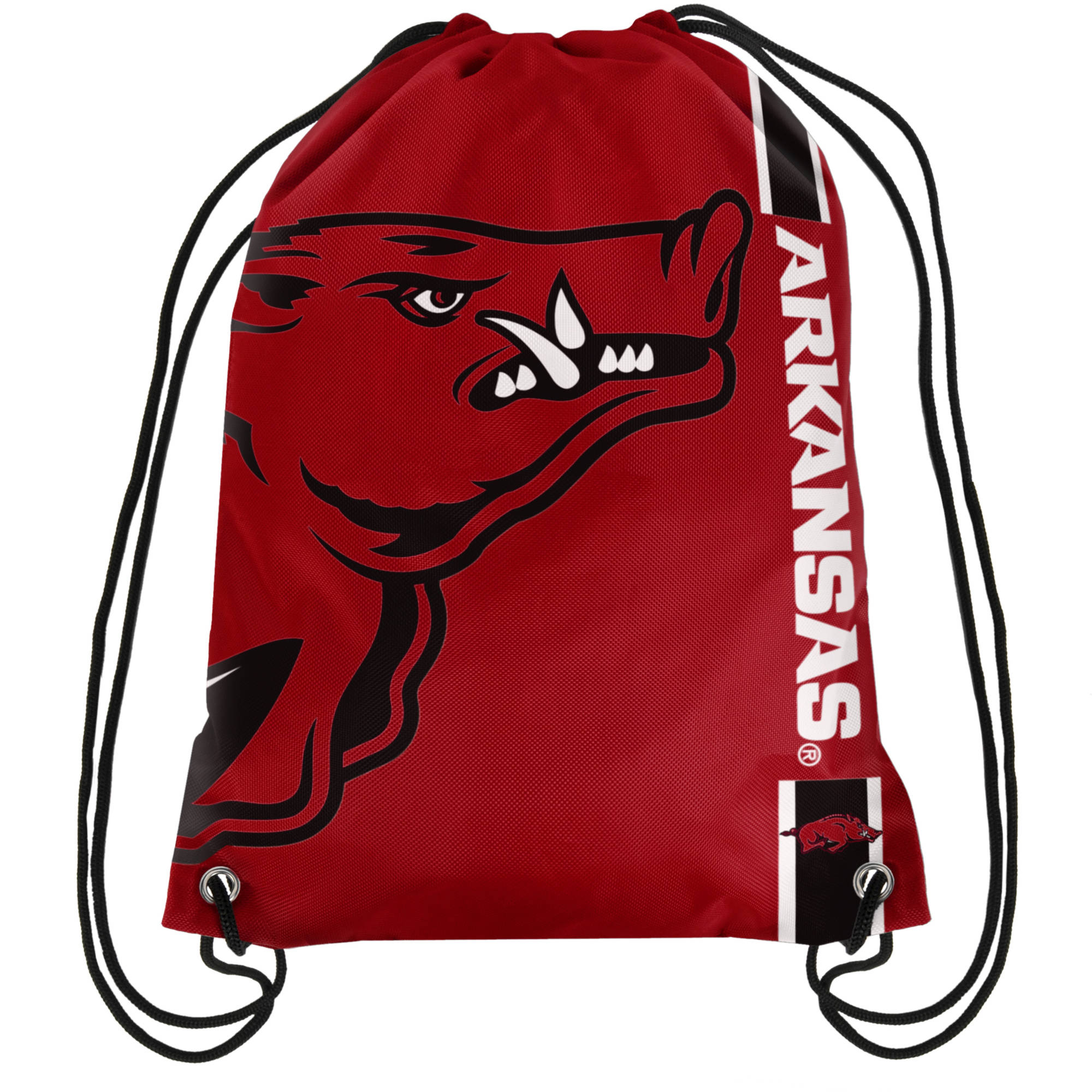 NCAA Arkansas Drawstring Backpack