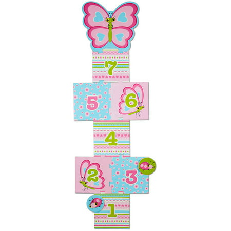 Melissa & Doug Sunny Patch Cutie Pie Butterfly Hopscotch Action Game - 8 Foam Pads