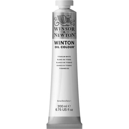 Winsor & Newton Winton Oil Colour Tube, 200ml, Titanium White