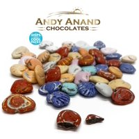 Andy Anand Belgian Chocolate Sea Shells Amazing Delicious & Gift Boxed with Greeting Card for Beach Theme, Birthday, Valentine Christmas Holiday Mothers Fathers day Anniversary, Free Air Shipping