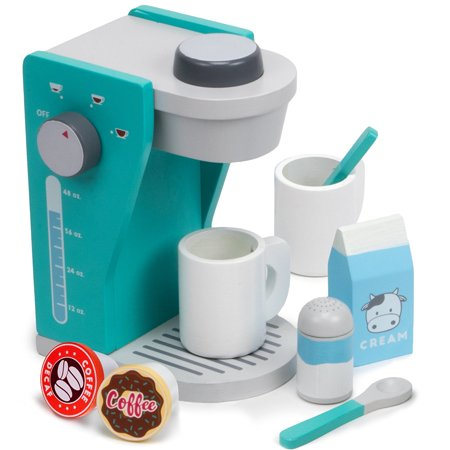 Playset Toy 9pcs Rise Shine Pod Capsule Coffee Maker Kids Toys Playsets