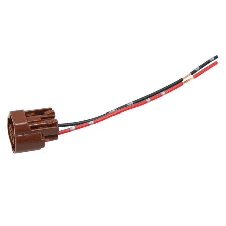 2 terminals dc 12v speed sensor motor wiring harness connector socket for  car - walmart com