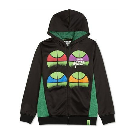 Nickelodeon Boys TMNT Fleece Hoodie Sweatshirt - Tmnt Raphael Hoodie
