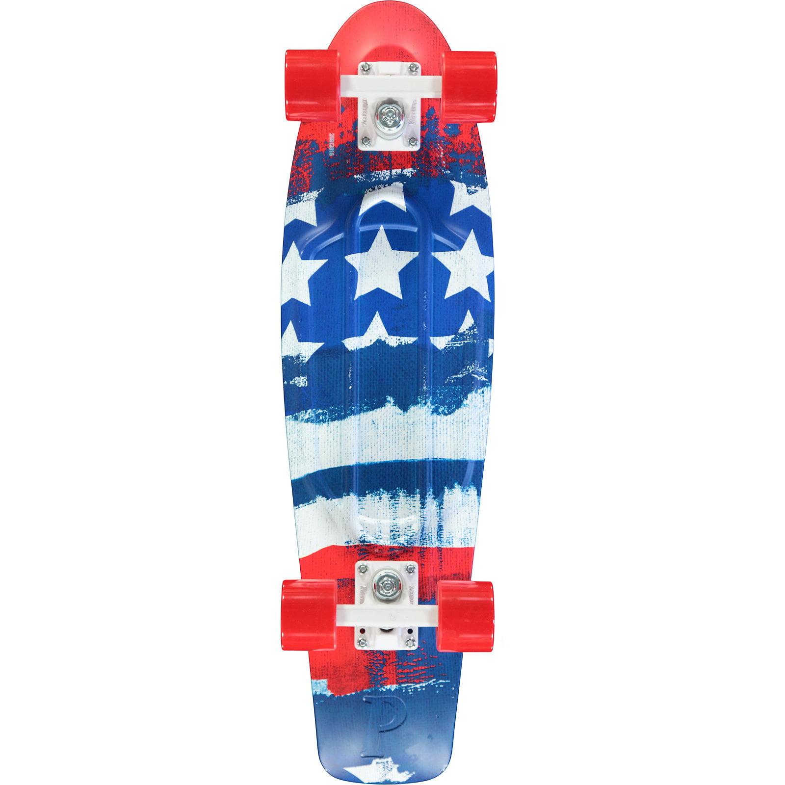 "PENNY Skateboards Patriot 27"" Complete Cruiser Skateboard..."