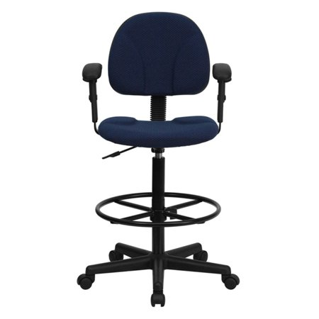 (Ergonomic Multi-Function Drafting Stool with Arms, Multiple Colors)
