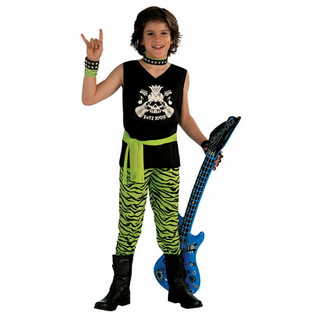 Rock Star Dude Costume Child - Kids Rock Star Costumes