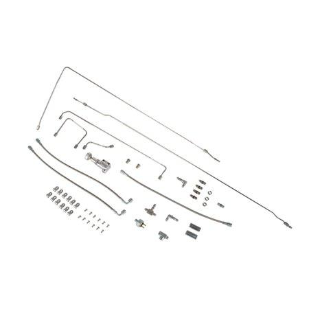 T-Bucket Disc/Disc Stainless Brake Line Kit