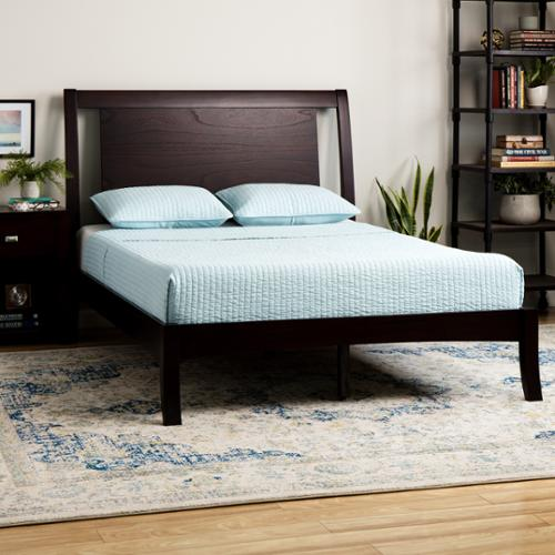 Domusindo Floating Panel Queen-size Sleigh Bed by Overstock