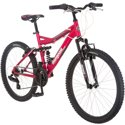 "21"" Mongoose Ledge 2.1 Girls' Mountain Bike (Pink)"