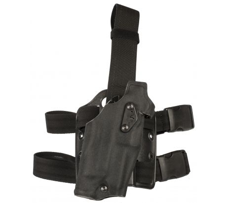Safariland 6354Do Do Tactical Holster, Glock 17, 22 w ITI M3 Light, Cord Black, by