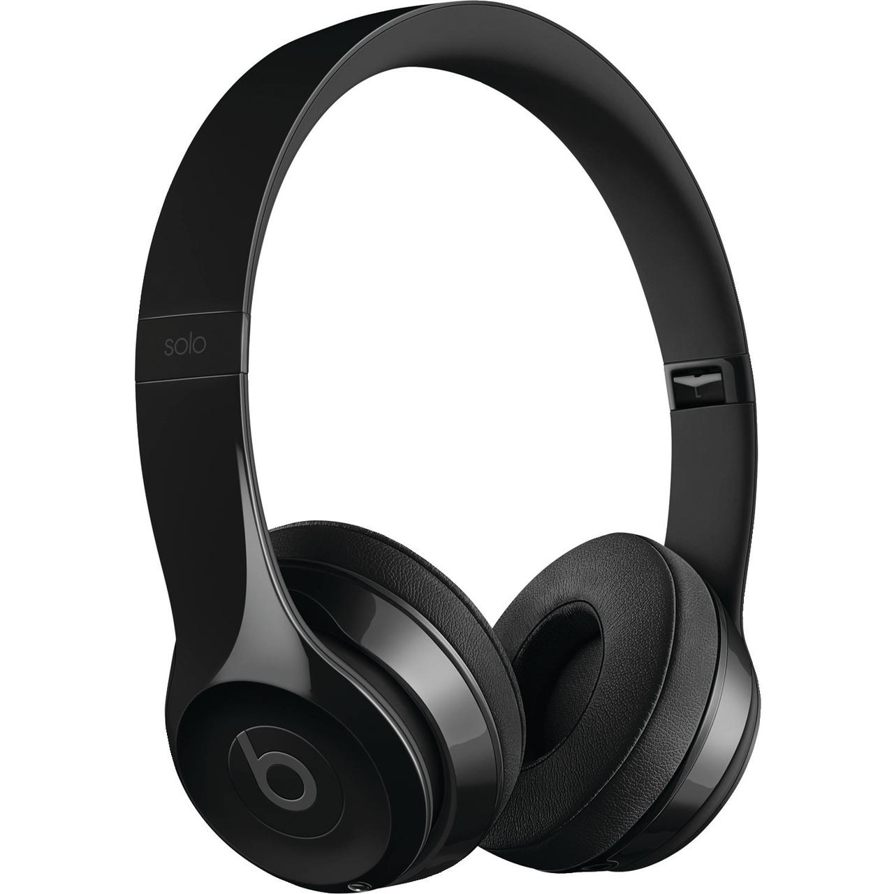 Beats MNEN2LL/A/ SOLO3/ GLOSS BLACK Solo3 Bluetooth On-Ear Headphones with Microphone (Gloss Black)