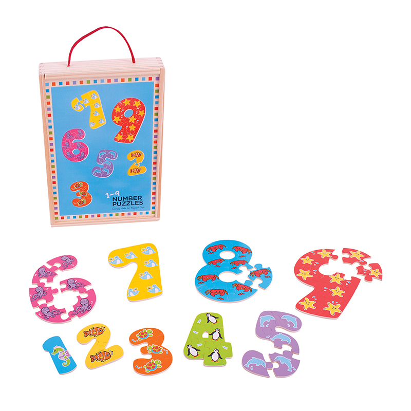 Bigjigs Toys  19 Number Puzzle