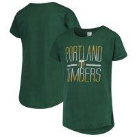 Portland Timbers Girls Youth Glory Dolman T-Shirt - Green