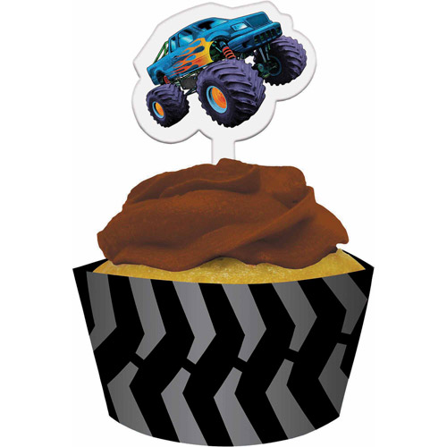 Creative Converting Mudslinger Cupcake Wrappers, 12-Pack