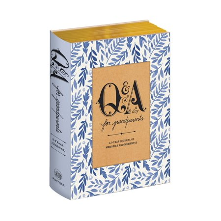 Q&A a Day for Grandparents : A 3-Year Journal of Memories and Mementos (Memory Journal)