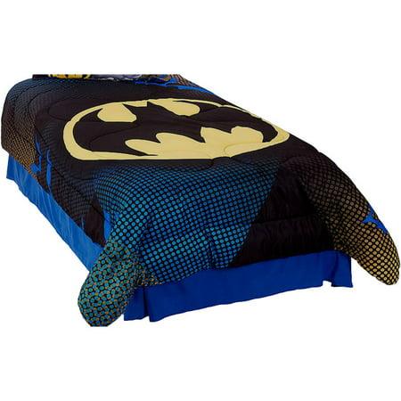 3pc DC Comics Batman doble consolador Set ropa de cama de gran Gotham + DC en Veo y Compro