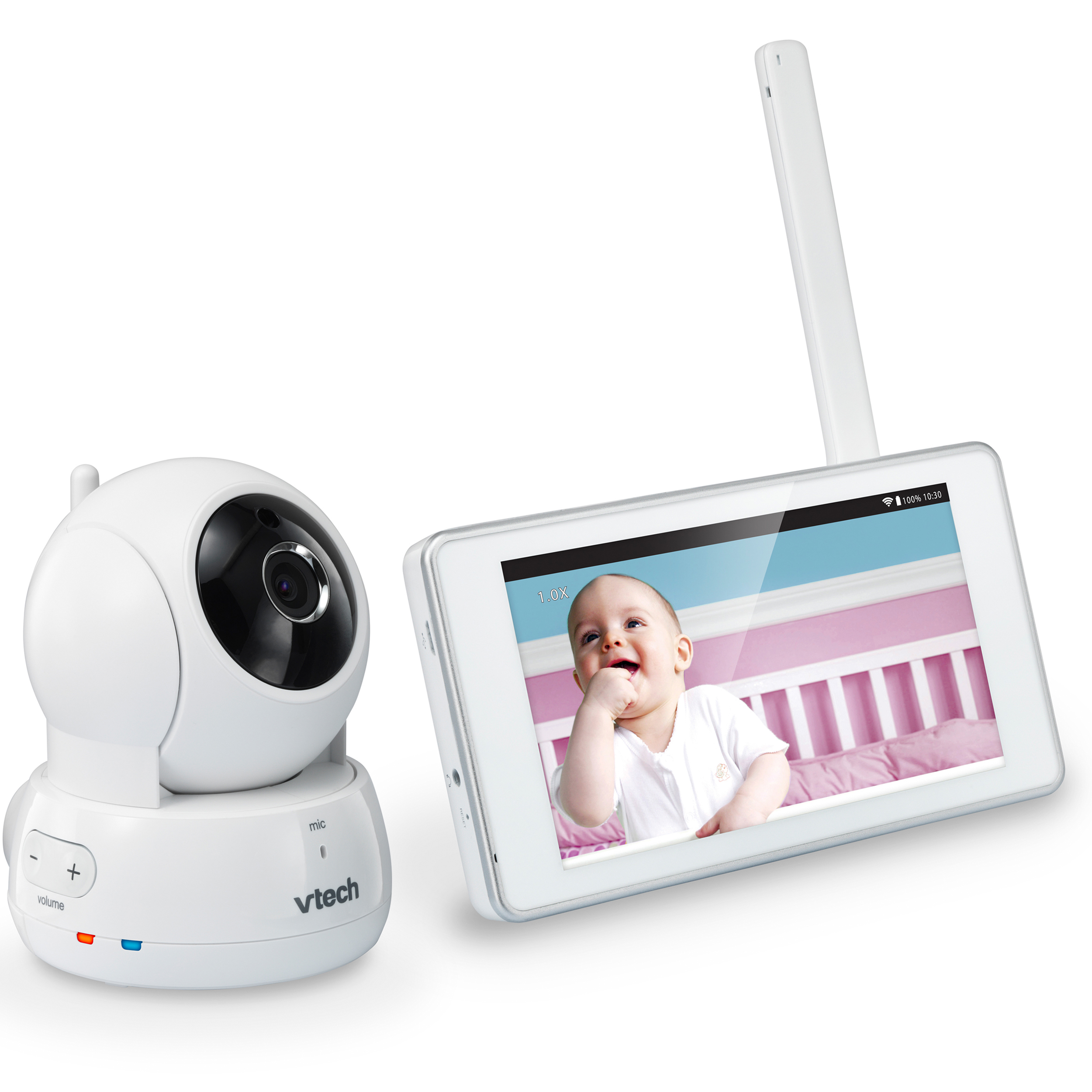 VTech VM991, Wi-Fi Video Baby Monitor, Remote Access, Pan & Tilt Camera by VTech