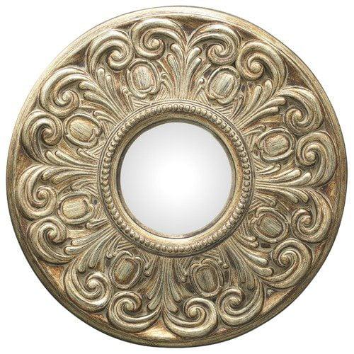 Cooper Classics Mitchell Wall Mirror in Bronze