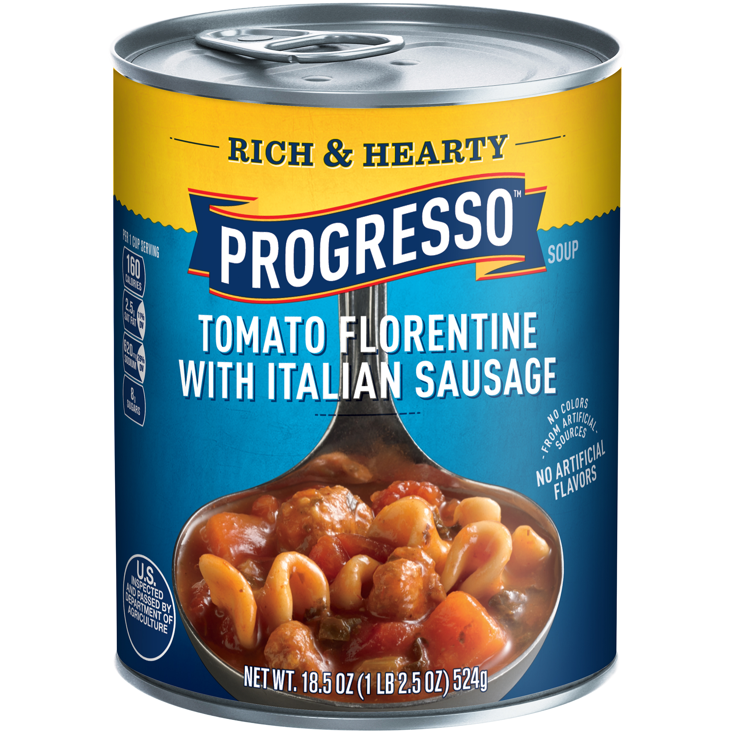 Progresso��� Rich & Hearty Tomato Florentine with Italian Sausage Soup 18.5 oz. Can
