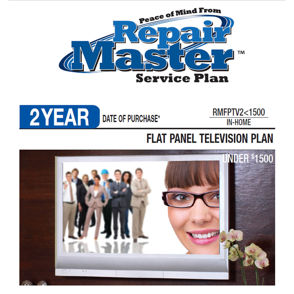 2-Year Flat Panel Television Service Plan