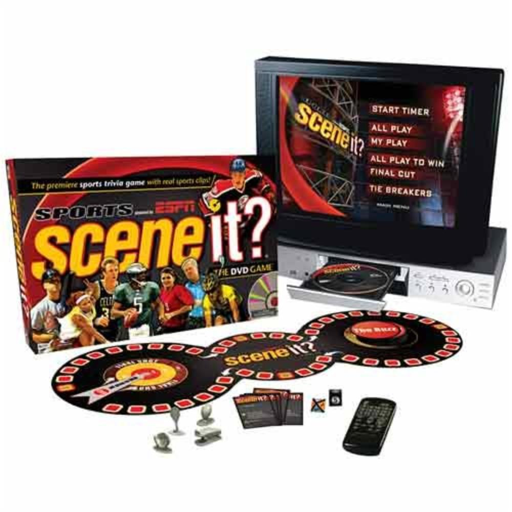 Scene It Sports Dvd Game Powered By Espn This Is More Than Sports Trivia Use Observation Memory Word Play And Puzzle Solving To Answer Different Challenges By Screenlife Walmart Com