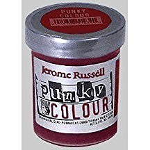 Jerome Russell Semi Permanent Punky Colour Hair Cream 3.5oz Red Wine # 1442