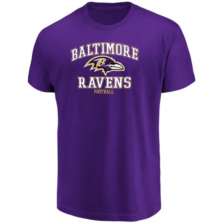 Baltimore Ravens Book Cover - Men's Majestic Purple Baltimore Ravens Greatness T-Shirt