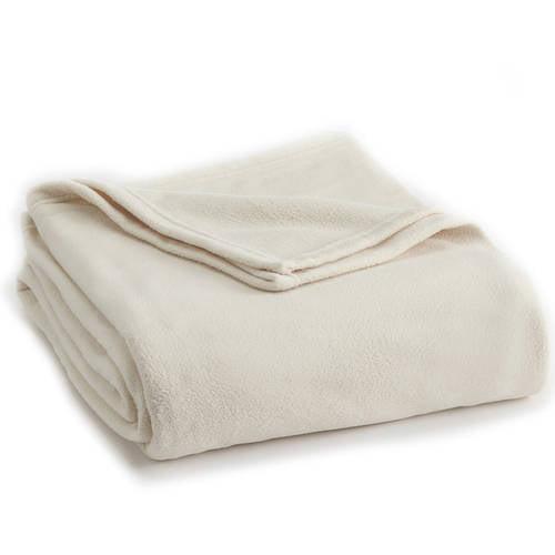Vellux Fleece Blanket Microfleece, Lightweight, Warm, Soft by WestPoint Home
