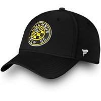 Columbus Crew SC Fanatics Branded Elevated Speed Flex Hat - Black