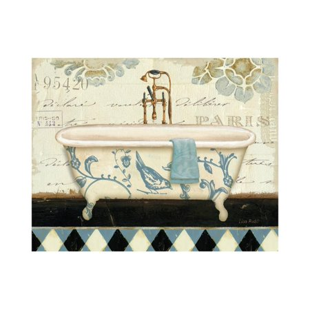 Marche de Fleurs Bath II Print Wall Art By Lisa Audit